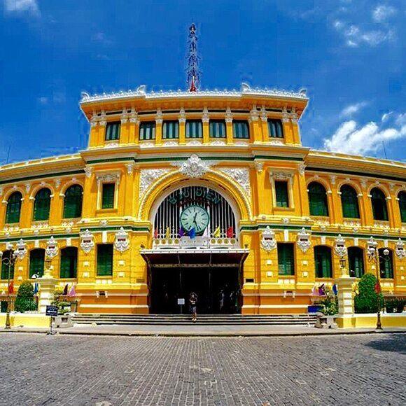 Saigon Central Post Office – Ho Chi Minh City, Vietnam - Atlas Obscura