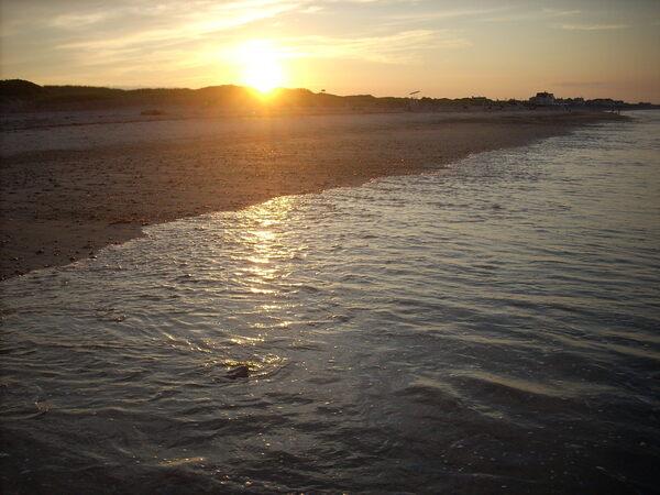 Rexhame Beach in Marshfield, Massachusetts