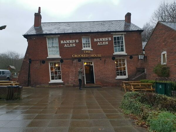 The Crooked House in Dudley, England