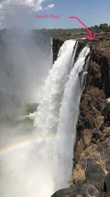 Devil's Swimming Pool – Victoria Falls, Zambia - Atlas Obscura
