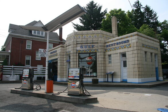 Gulf Gas Station Near Me >> Dunkle S Gulf Service Bedford Pennsylvania Atlas Obscura