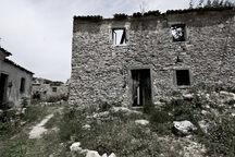 Debris of old houses