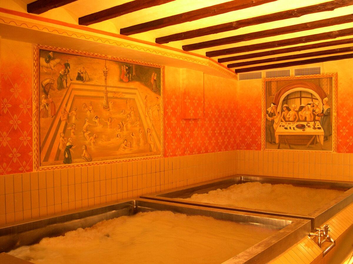 Unusual things to do in Europe - Beer Baths Austria