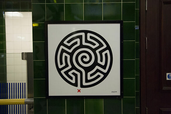 London Underground Labyrinths