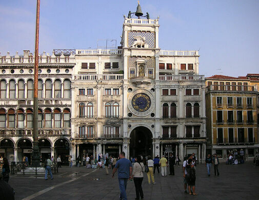 Image result for basilica di san marco venice italy clock tower