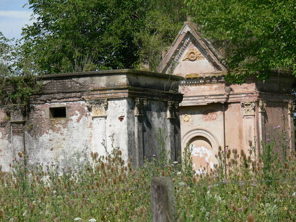 Abandoned Cemetery of San Andres de Giles