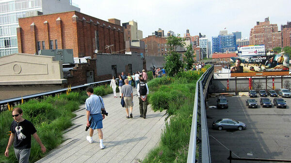 how to get to high line park