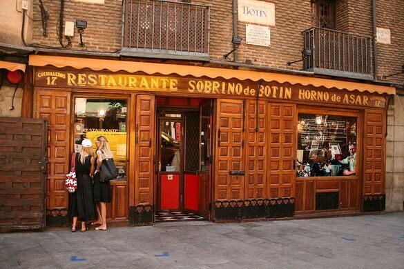 Sobrino De Botin Madrid Spain Gastro Obscura