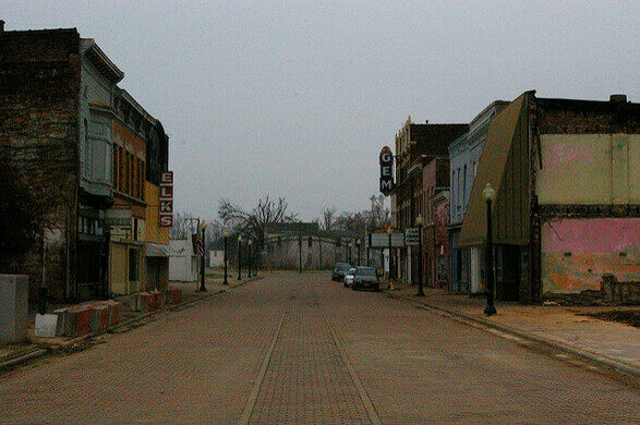 Abandoned Town Of Cairo, Illinois