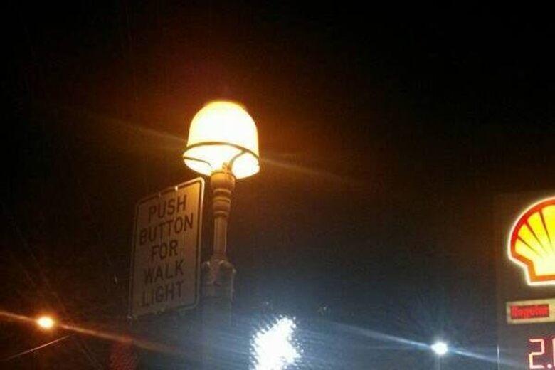 Yellow Lamps Cincinnati Ohio