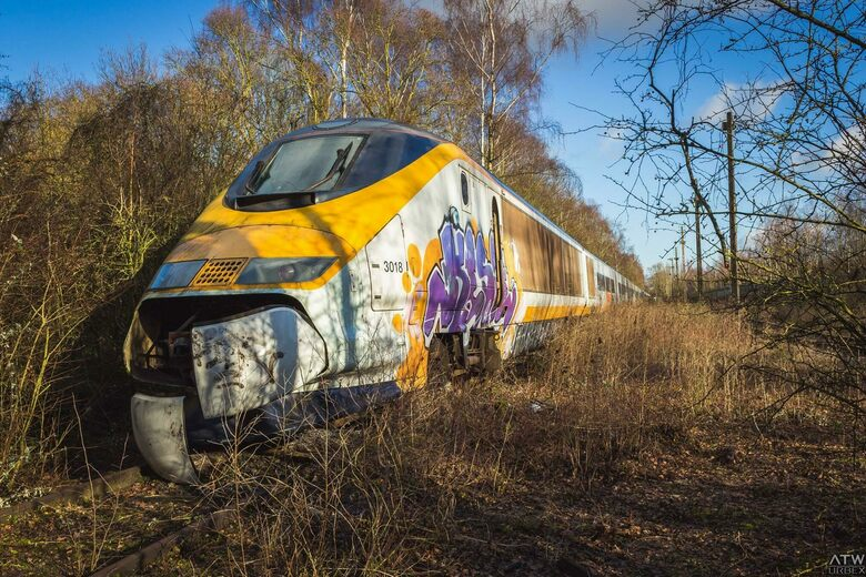 Abandoned Eurostar Train – Valenciennes, France - Atlas Obscura