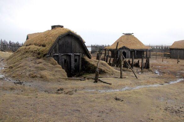 Viking Village Film Set H 246 Fn Iceland Atlas Obscura
