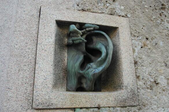 Italian Food Near Me Abandone Building Casa: The Bronze Ear Of Casa Sola-Busca