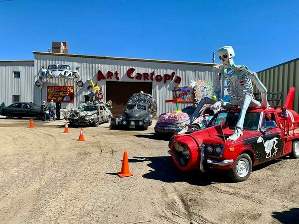 Art Cartopia Museum in Trinidad, Colorado