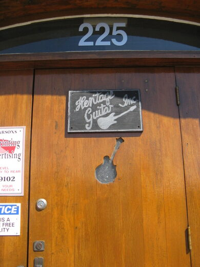 The Old Gibson Guitar Factory – Kalamazoo, Michigan - Atlas