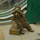 The Paddington Bear statue at Paddington station.