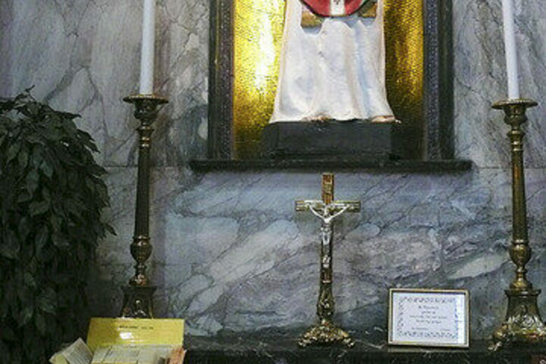 Relics Of Saint Valentine At The Whitefriar Street Church