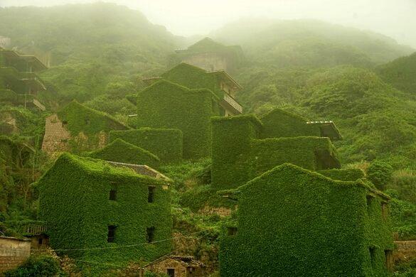 houtouwan shengshan island china atlas obscura