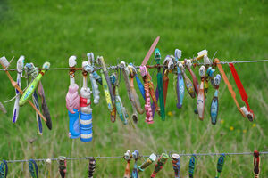 The toothbrush fence.