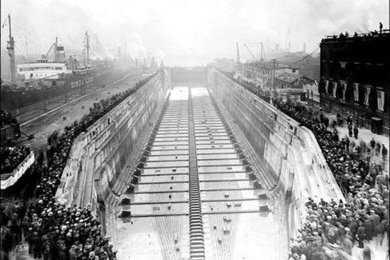 Red Hook Graving Docks Brooklyn New York Atlas Obscura