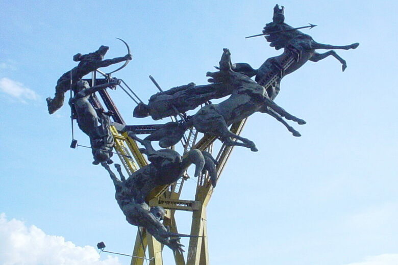 La Gaitana Monument Neiva Colombia Atlas Obscura