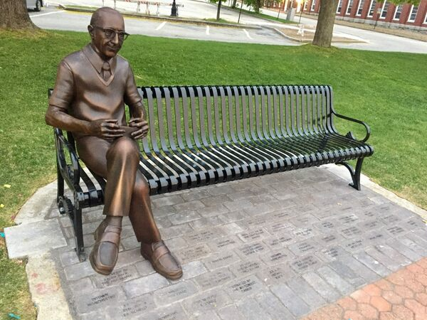 Ralph Baer Memorial in Manchester, New Hampshire