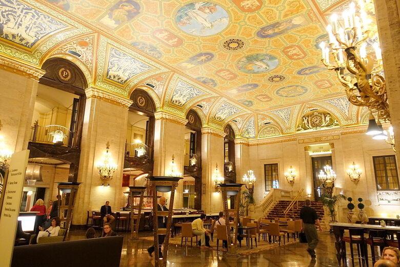 Palmer House Hilton Chicago Illinois
