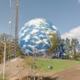 Western Hemisphere on the Earthoid