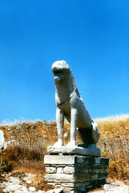 Terrace of the Lions – Mikonos, Greece  Atlas Obscura