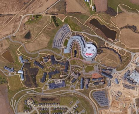 Red Mountain High School Campus Map.Epic Campus Verona Wisconsin Atlas Obscura