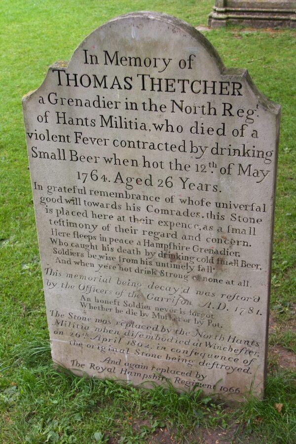 The Grave of Thomas Thetcher