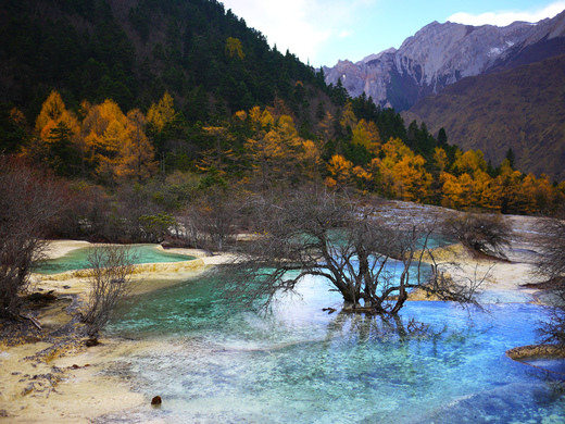 Huanglong Travertine Pools Aba China Atlas Obscura