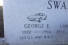 Grave Of George Swanson Irwin Pennsylvania Atlas Obscura