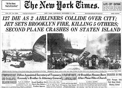 Park Slope Plane Crash Brooklyn New York Atlas Obscura