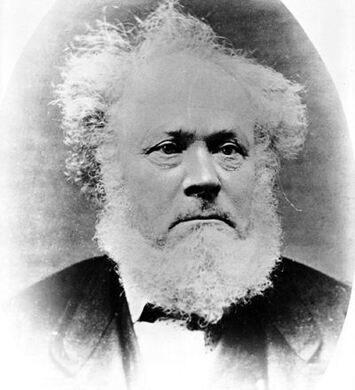 Photograph of William Keil (1812–1877). Public Domain