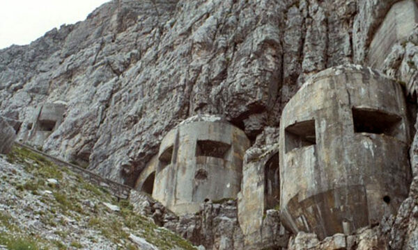 Thousands of Miles of Abandoned Fortresses in the Italian Alps