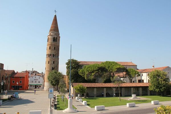 Bell Tower of Caorle  in Caorle, Italy