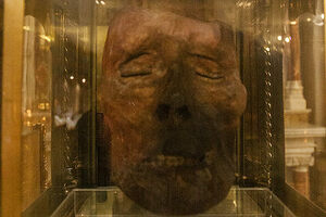 Preserved head of St. Oliver Plunkett.