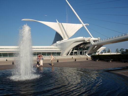 Milwaukee Art Museum Milwaukee Wisconsin Atlas Obscura