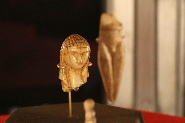 The Venus of Brassempouy in Saint-Germain-en-Laye, France