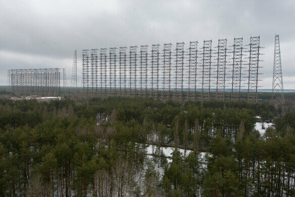 Duga Quot Woodpecker Quot Radar Ivankivs Kyi District Ukraine