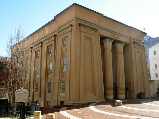 Egyptian Building Richmond Virginia Atlas Obscura