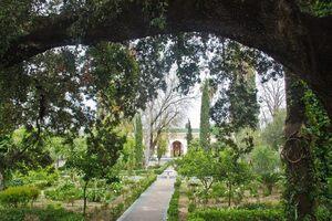 Dar Batha museum and gardens.