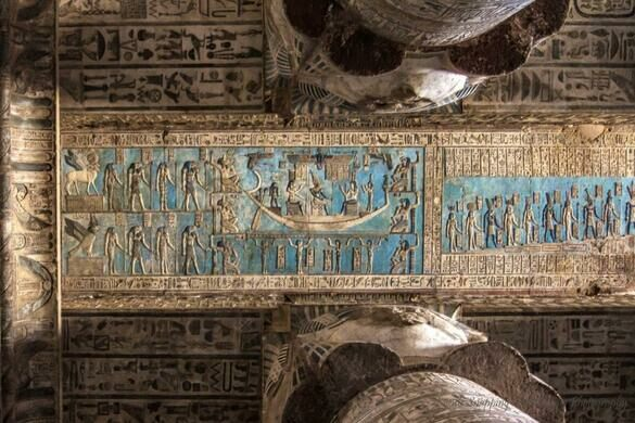 Hathor Temple – Dandarah, Egypt - Atlas Obscura