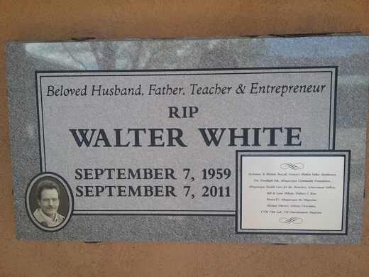 Grave of Walter White