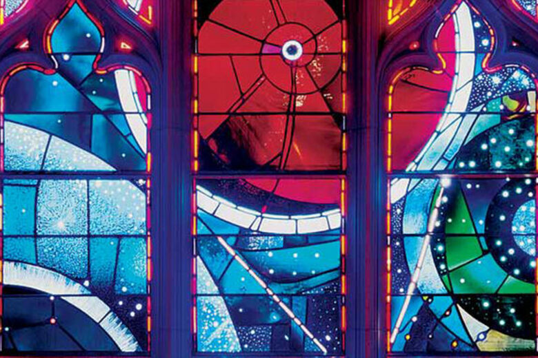 Space Window at the Washington National Cathedral