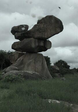 Balancing Rocks of the Zimbabwe Dollar – Harare, Zimbabwe