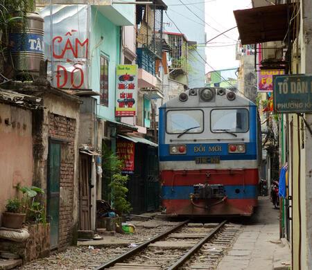 Hanoi's Train Street – Hanoi, Vietnam - Atlas Obscura