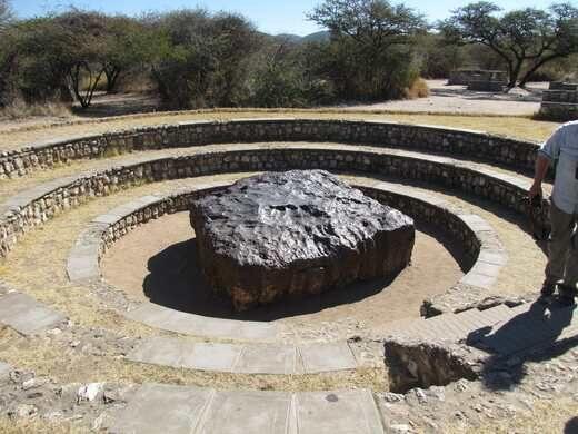 Hoba Meteorite near Grootfontein, Namibia – Namibia - Atlas