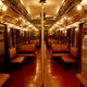 1920s Subway Car complete with ceiling fansPhoto by Curious Expeditions